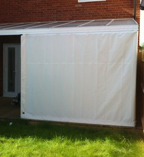 ROLLUP / REMOVABLE & Canopy Sides